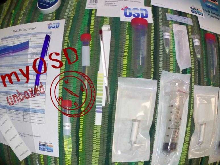 My OSD Box ausgepackt