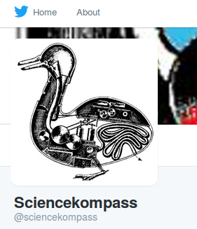 Twitter at Sciencekompass