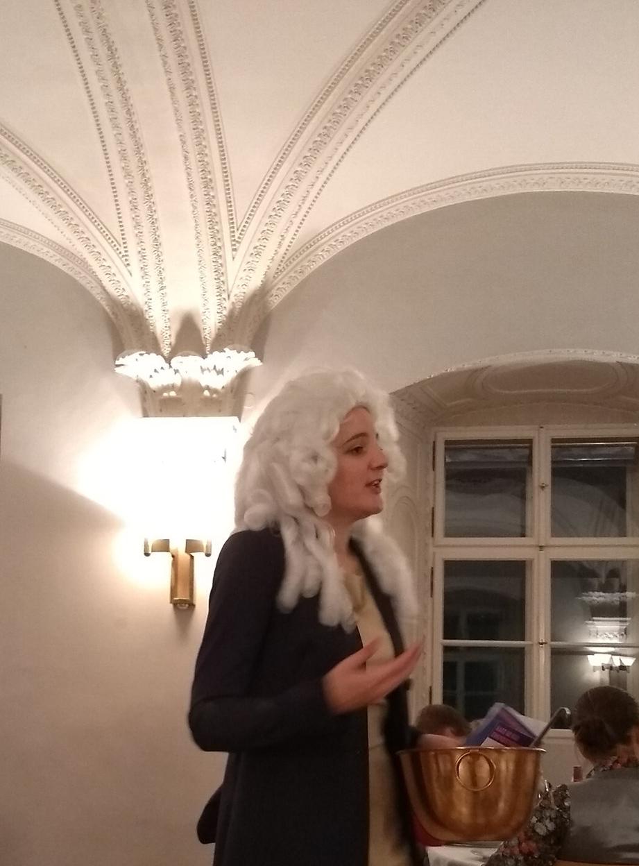 Gastgeberin Marlene Ernst